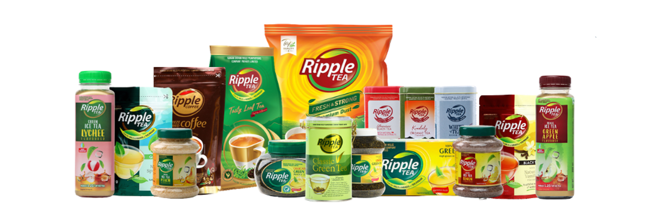 Ripple tea products