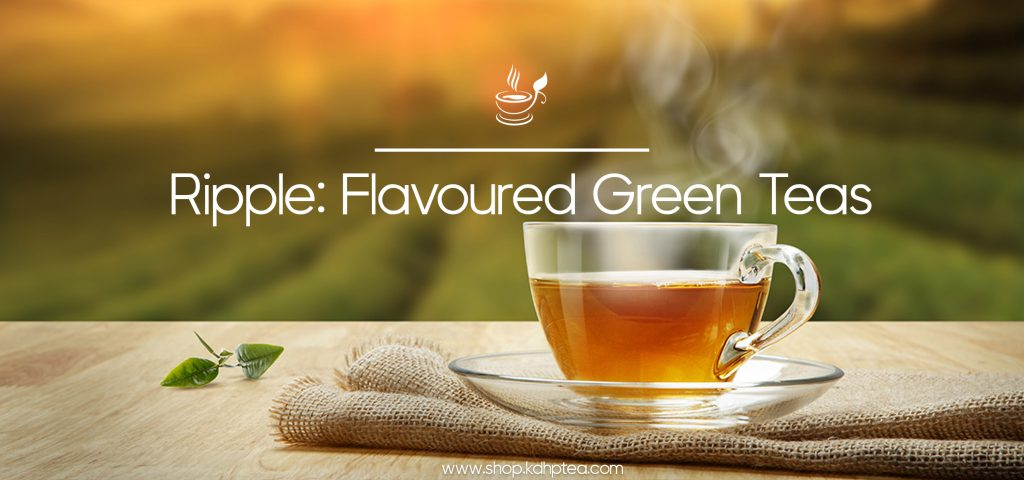 Ripple Flavoured Green Teas